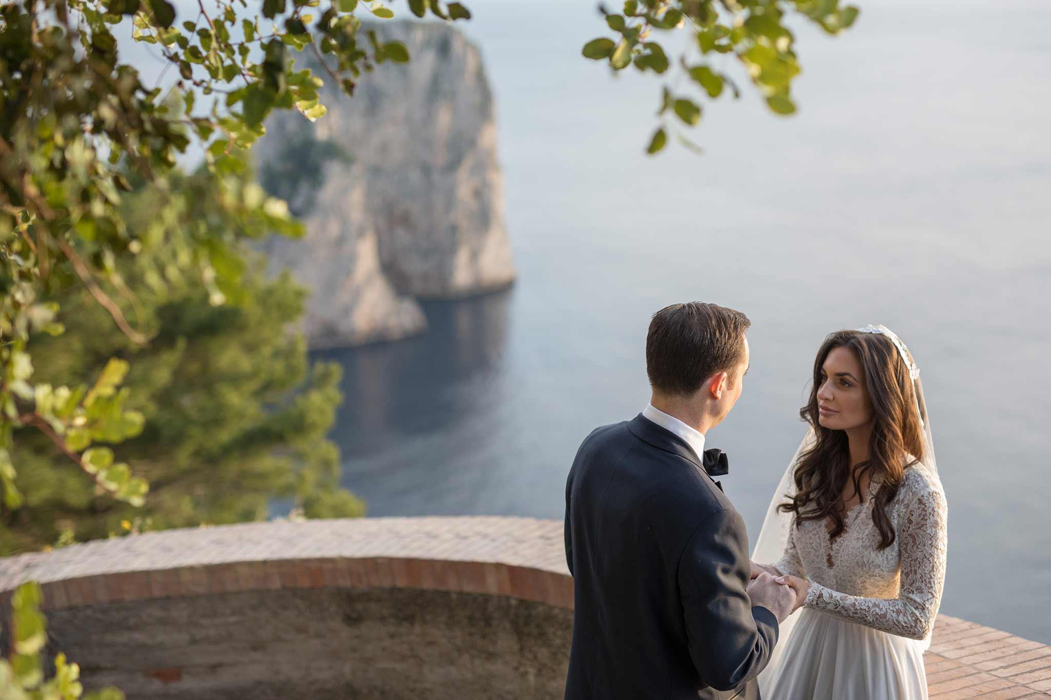 WEDDING ON THE ISLAND OF CAPRI